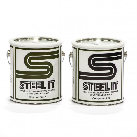 Steel-It Epoxy Finish 2 Gallon Kit 4907G
