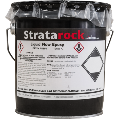 Stratarock Liquid Flow Epoxy .24 cu ft unit