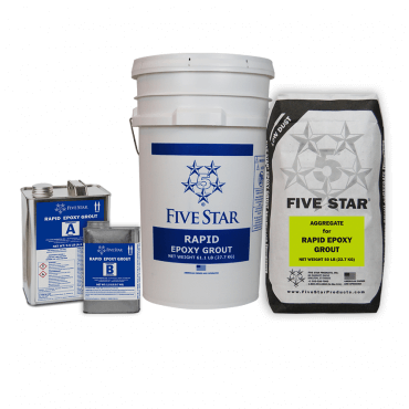 Five Star Rapid Epoxy Grout 32500