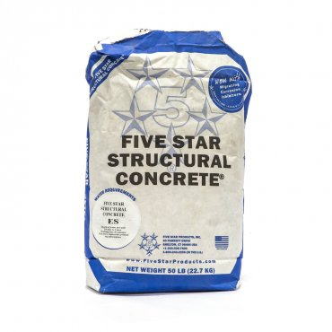 Five Star Structural Concrete ES 50 lb bag 29400