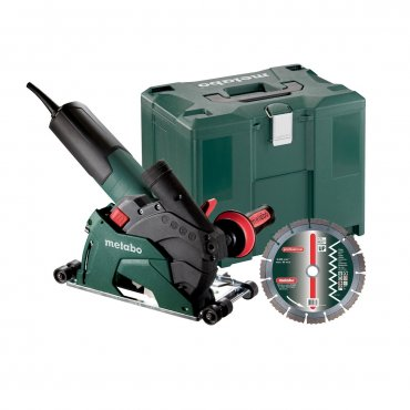 """Metabo W 12-125 HD SET CED PLUS 5"""" Angle Grinder"""