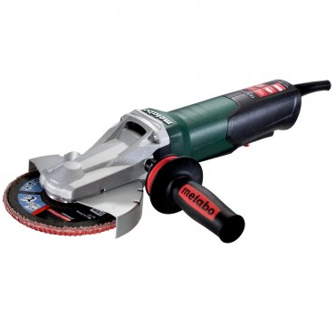 """Metabo WEPF 15-150 Quick 6"""" Flat-Head Angle Grinder 613084420"""