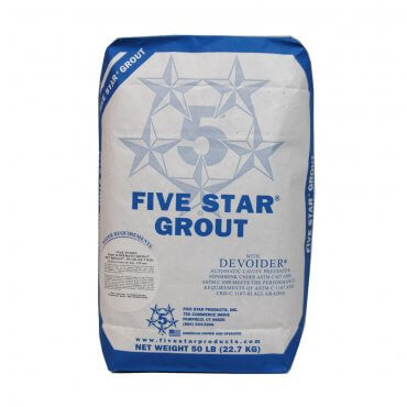 Five Star Products High Strength Grout 42000
