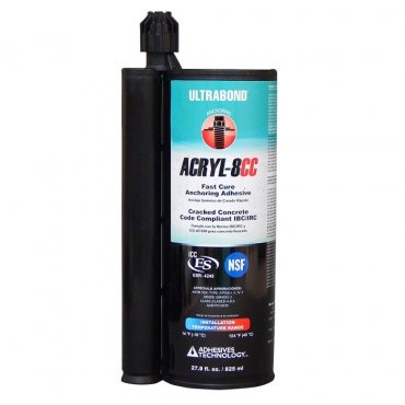 Adhesives Technology ACRYL-8CC 28oz Case 8
