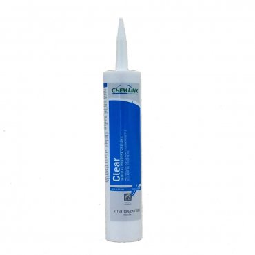 ChemLink Clear General Sealant 10.1oz Cartridge F1212