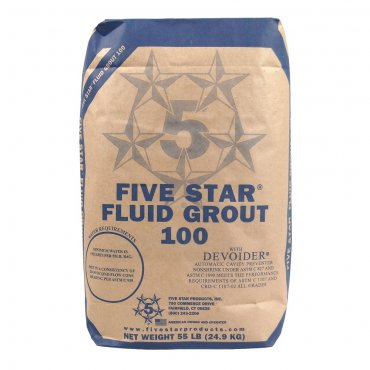 Five Star Products Fluid Grout 100 25000