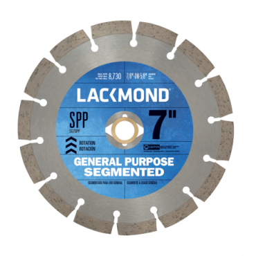 "Lackmond Diamond Blade 7"" SG7SPP"