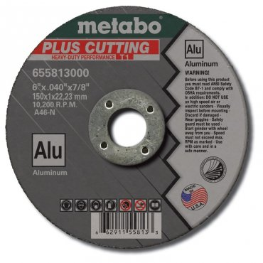 "Metabo A60TX Slicer Plus Box 50 4""x.045""x5/8"" 655996000"