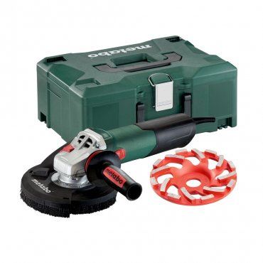 "Metabo WE 15-125 HD Set GED 4.5""/5"" Concrete Angle Grinder"
