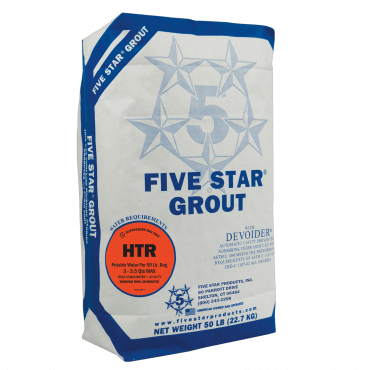 Five Star Products HTR Grout 50lb 28830