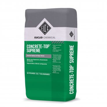 Euclid Concrete-Top Supreme 50lb Bag 160C 50