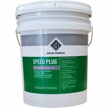 Euclid Speed Plug 50lb Pail