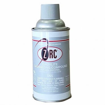 ZRC Galvilite Galvanizing Repair Compound Aerosol
