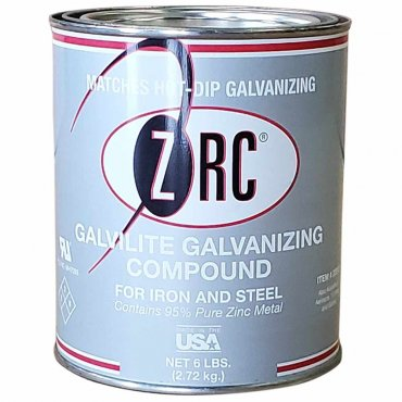 ZRC Galvilite Galvanizing Repair Compound Quart