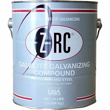 ZRC Galvilite Galvanizing Repair Compound Gallon