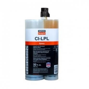 Simpson Strong-Tie CI-LPL Injection Epoxy 32oz Cartridge